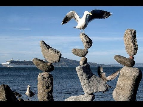 Vancouver stone balance! What a great idea!
