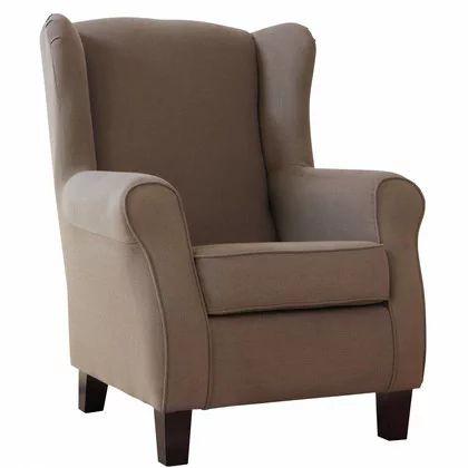 CHANDLER füles fotel világos barna