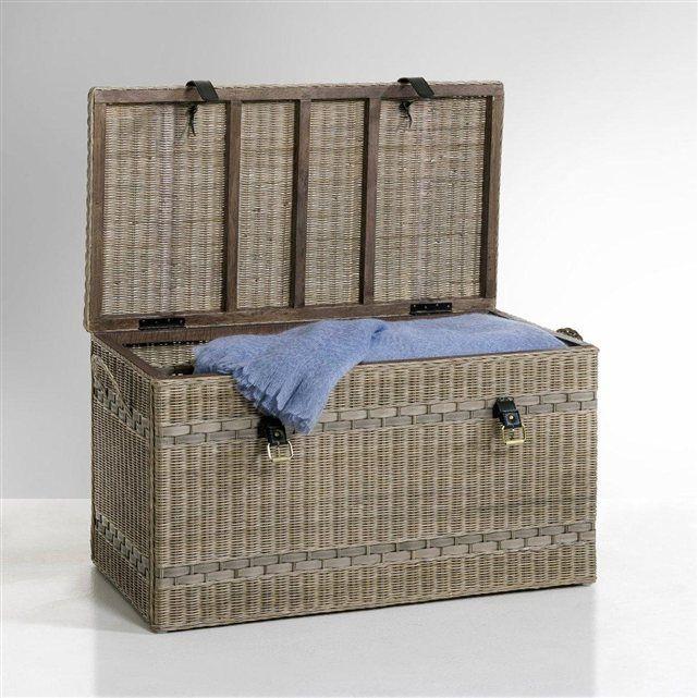 17 meilleures id es propos de malle en osier sur pinterest paniers suspendre chelle. Black Bedroom Furniture Sets. Home Design Ideas
