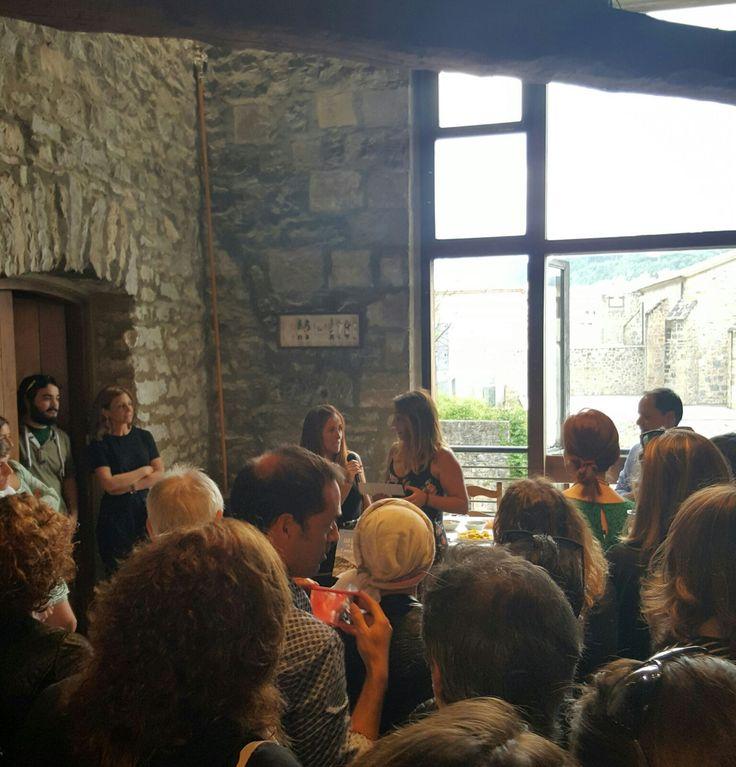 Sisters and the City presentan su Sisterguía en la gastronómica de Donostia. El Restaurante Aitzgorri estuvo en la presentación.