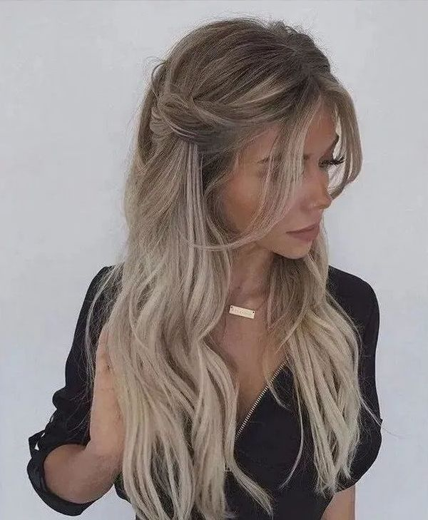 Fabulous womens long hair hairstyles ideas for your summer 22 #womenslonghair #hairstylesideas #Hairstylesforsummer – empyreandivine