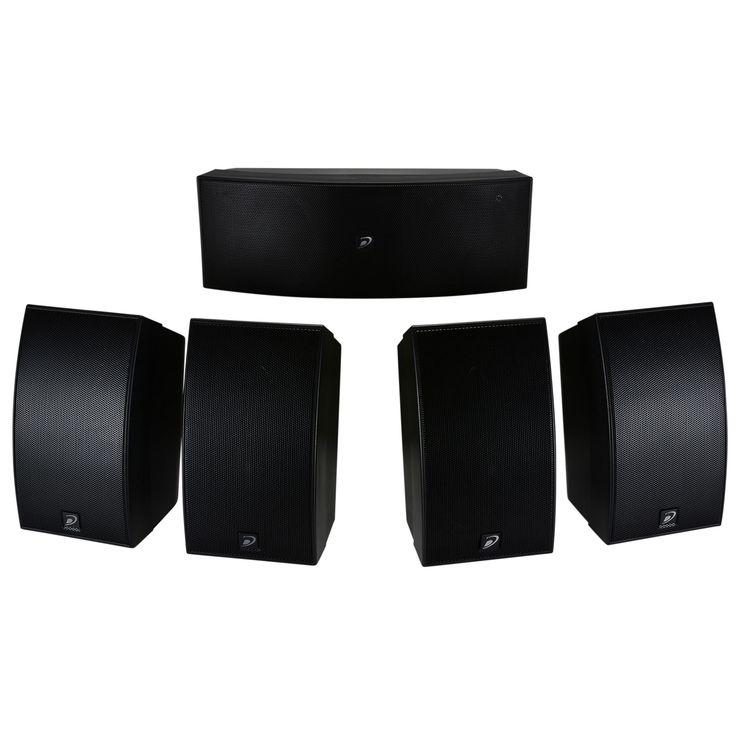 Dayton Audio Home Theater Speaker System Under $100