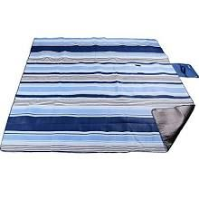 XXL-Large Outdoor Picnic Blanket,Waterproof Backing 200 x 200cm Oversized Soft Fleece Material Camping Tote Mat