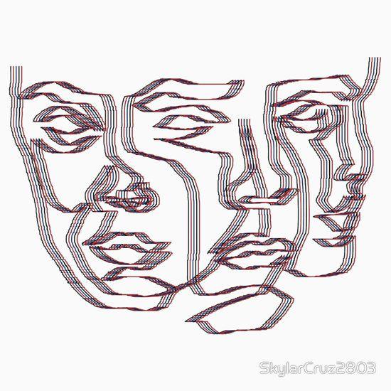 3 faced