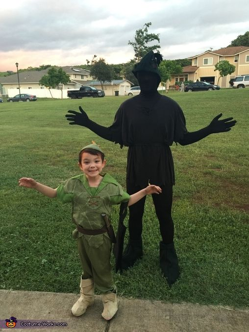 Peter Pan and his Shadow Halloween Costume