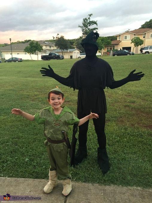 Peter Pan and his Shadow Halloween Costume