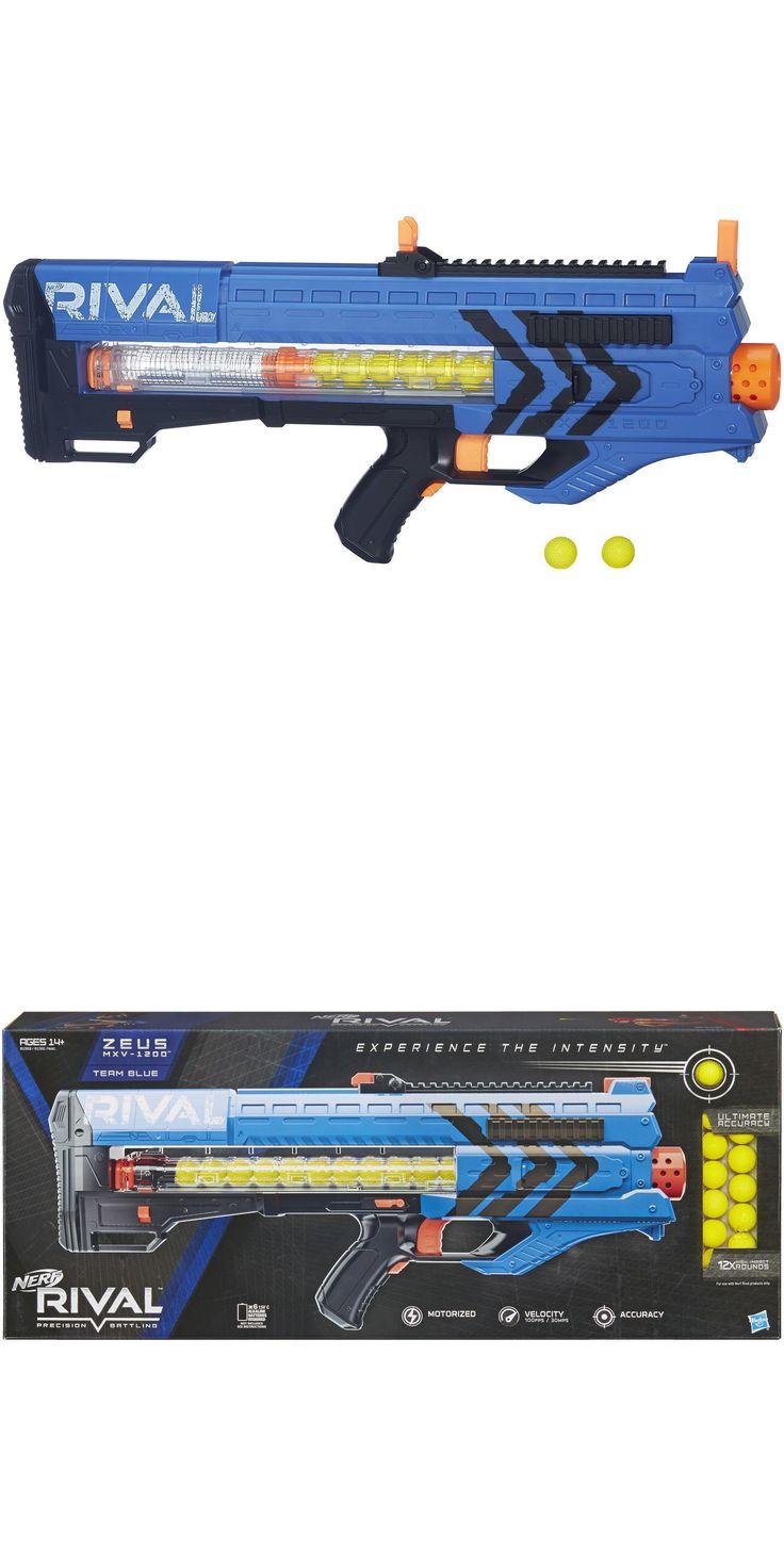 Dart Guns and Soft Darts 158749: Nerf Rival Zeus Mxv-1200 Blaster Blue 22160 Toy Nerf Gun -> BUY IT NOW ONLY: $34.95 on eBay!
