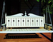 169 best wooden swings images on pinterest wood swing for Victorian porch swing plans