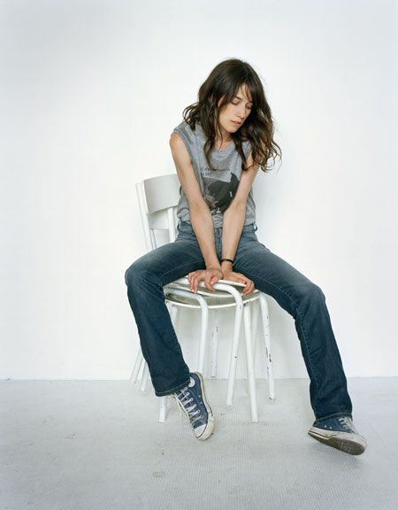charlotte gainsbourg in denim                                                                                                                                                                                 More