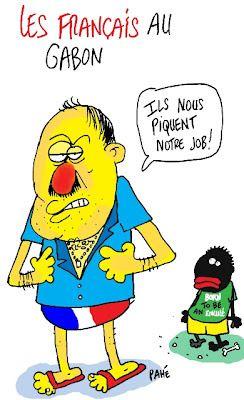 Français au Gabon - Françafrique