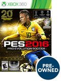 PES 2016: Pro Evolution Soccer - PRE-Owned - Xbox 360, Multi