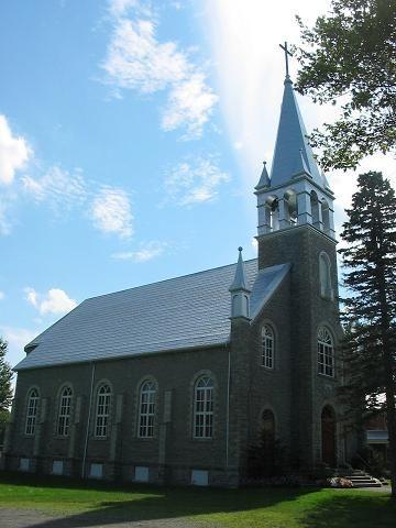 North Glengarry (église Sainte-Catherine-de-Sienne), Ontario, Canada (45.294436, -74.763974)