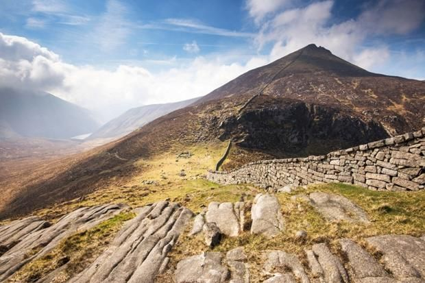 A 7 mile (moderate/strenuous) walk around Brandy Pad, Mourne Mountains, Co Down - http://thetim.es/1ufqKvi
