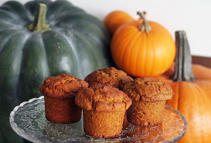 Nejlepší dýňové muffiny s vlašskými ořechy | Veganotic