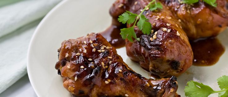 Curtis Stone | Chicken Drumsticks Marinated with Honey and Soy