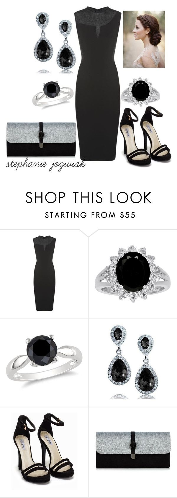 """""""Rhosyn's Dress for Kathrine's Funeral"""" by stephanie-jozwiak ❤ liked on Polyvore featuring Victoria Beckham, Ice, Bling Jewelry and Nly Shoes"""
