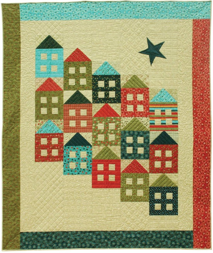 500 best House Quilts ~ 2 ~ images on Pinterest   House quilts ...