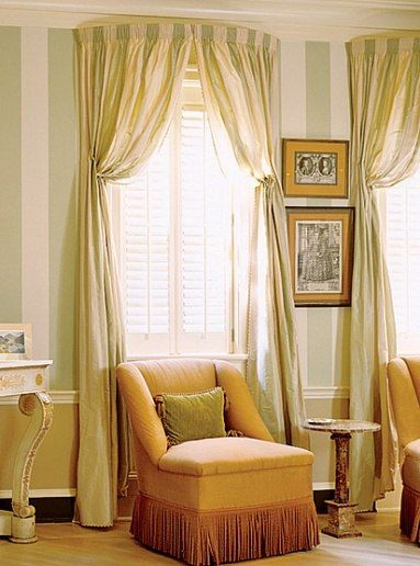 12 stylish window treatment ideas architectural digest for Window design circle