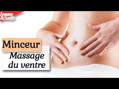 Un massage spécial ventre plat - Modelage minceur - YouTube
