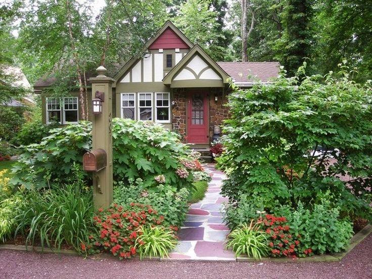 mailbox garden ideas | 12 Photos of the Cheap Mailbox Landscaping Ideas
