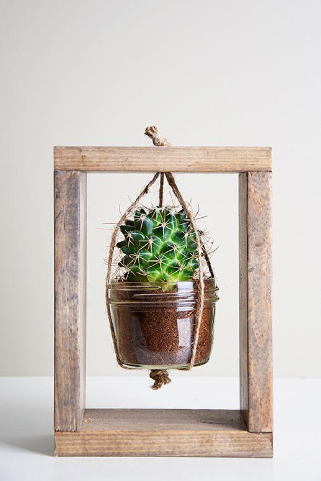 Creative DIY Planters – Cactus Planter Tutorial – Best Do It Yourself Planters a…
