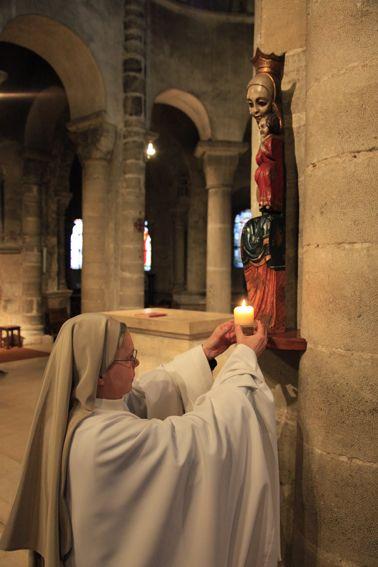 intention de prière - Abbaye de Chantelle