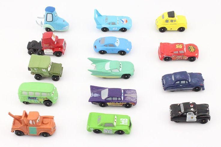 14 cái/bộ Pixar Cars hình Thống PVC Hành Động Hình Đồ Chơi Mô Hình Dolls Cổ Điển Đồ Chơi 4-7 cm Miễn Phí Vận Chuyển