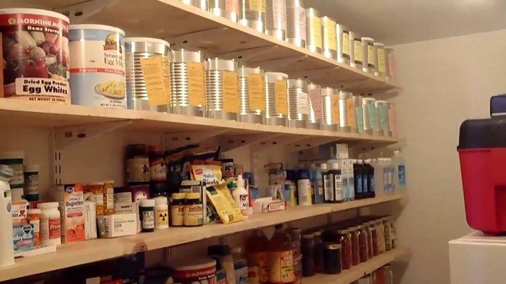 Food storage room using mormon cannery food storage storage