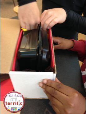 STEM Challenge: Can you silence a cell phone? Students create a company that markets a cell phone box that will silence a ringing phone. They must also develop a reason for needing this product! Great STEM Activity!