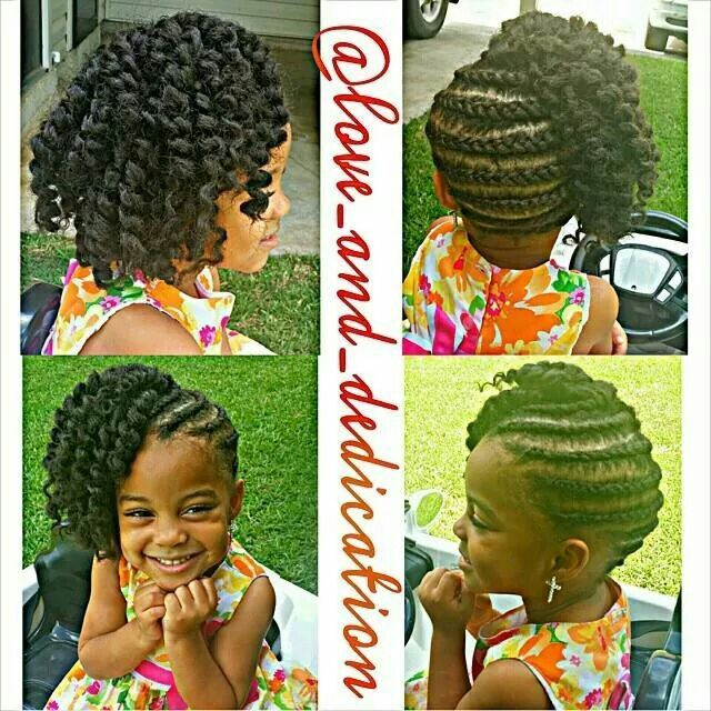 Pleasant 1000 Images About Natural Styles For Kids On Pinterest Cute Short Hairstyles For Black Women Fulllsitofus