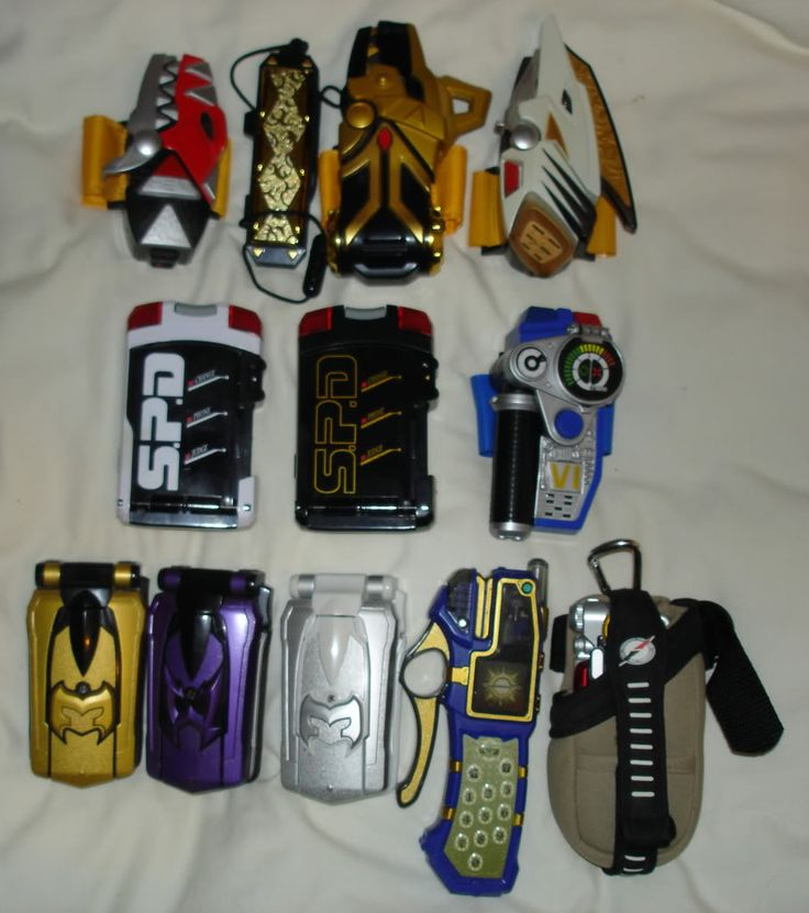 power rangers morphers toys | Ranger Powers » A blog about Power Rangers, Sentai, Kamen Rider, Toy ...