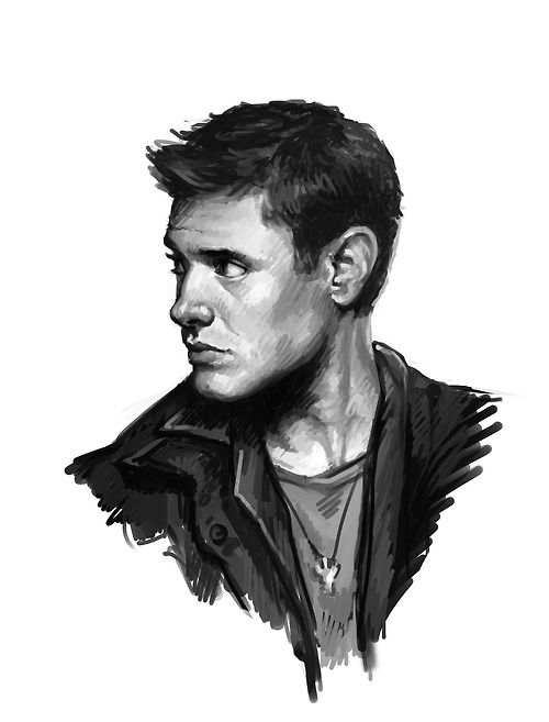 My supernatural fan artOwn art (Tumblr) #Supernatural #SPN #JensenAckles