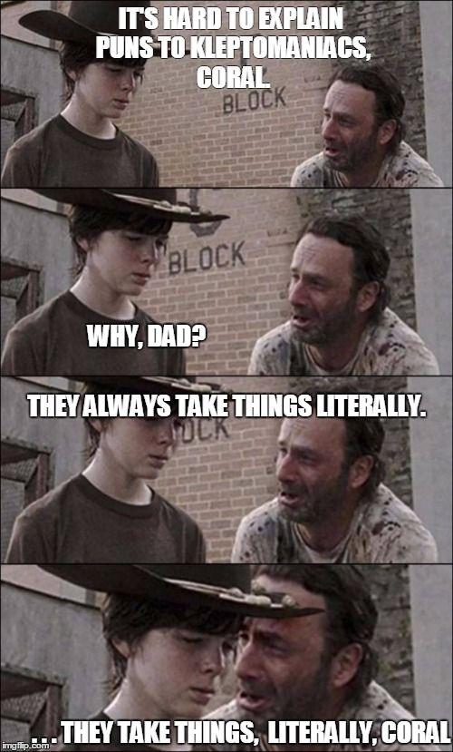 ce2605fc18d3d9fd0d89a5041d493935 book jacket twd memes best 25 walking dad jokes ideas on pinterest rick carl memes,Carl Rick Meme