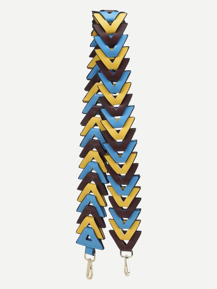 Correa de hombro de PU - multicolor  -Spanish SheIn(Sheinside)