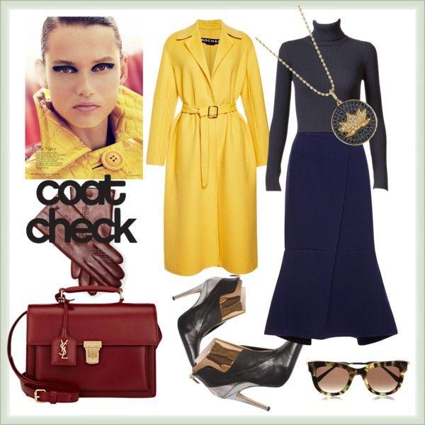 A fashion look from November 2015 by prusakova-1 featuring Alaïa, Rochas, Marni, De Siena, Maison Fabre и Sydney Evan