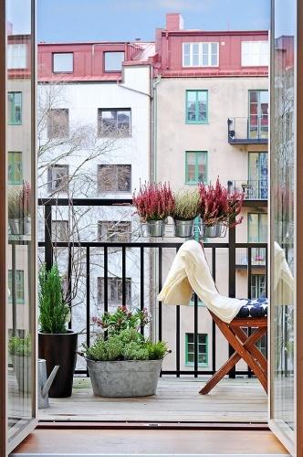 Decorar el balcón con césped | decoração de varanda | balcony decoration
