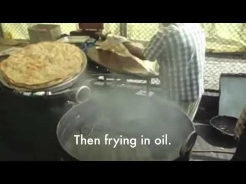 How to make traditional Kashmiri Roti (Poratha).