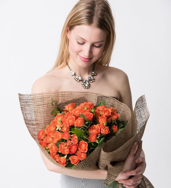 Çardak Gül Çiçek Buketi