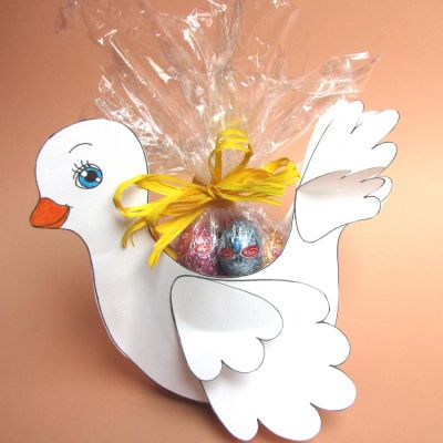 Pasqua – Agnellino porta ovetti di cioccolato | Le news di Scuola da Colorare.it