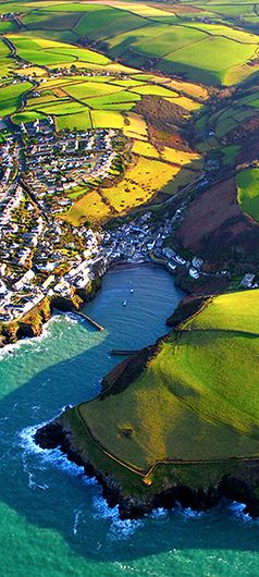 Port Isaac, Cornwall was my favourite childhood holiday haunt. Wonder if the local fishermen still do shanty's on Friday evenings.