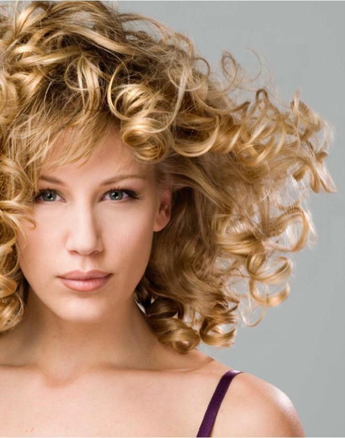 awesome Современная химическая завивка волос (50 фото) — Крупные локоны любой длины