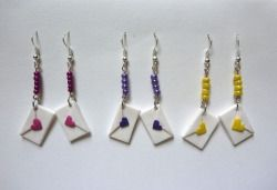 Earrings by L&H