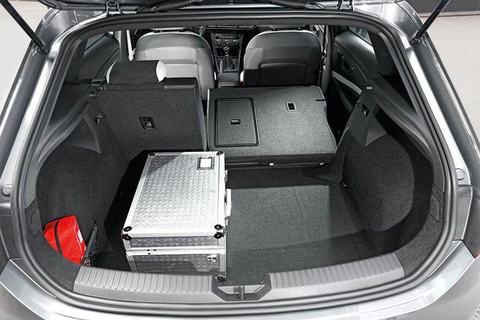 Seat Leon Cupra 280, Kofferraum
