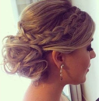 Braided Updos Prom Hair