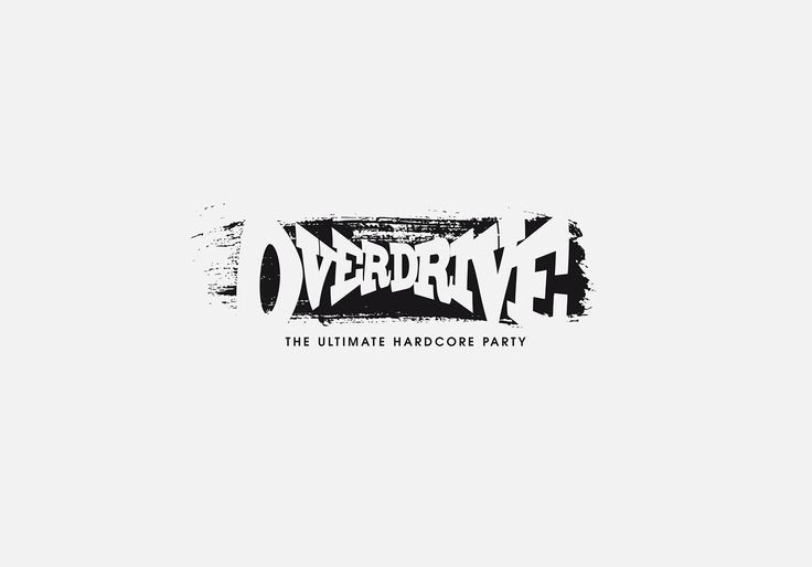 Logo proposal for Overdrive hardcore party