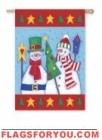 Snow Buddies House Flag - 6 left