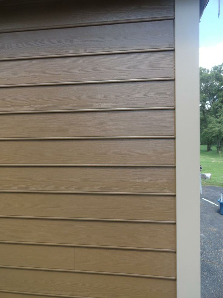James Hardie Beaded Lap Siding Chestnut Brown James