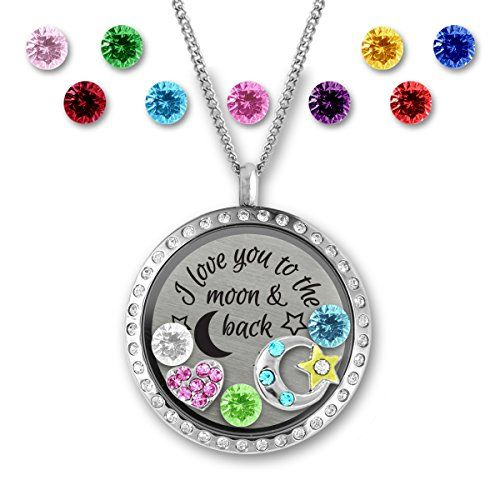 I Love You To The Moon And Back Heart Locket Necklace - A... https://www.amazon.com/dp/B01M0FXNXF/ref=cm_sw_r_pi_dp_x_q-uiyb06DQ1QY