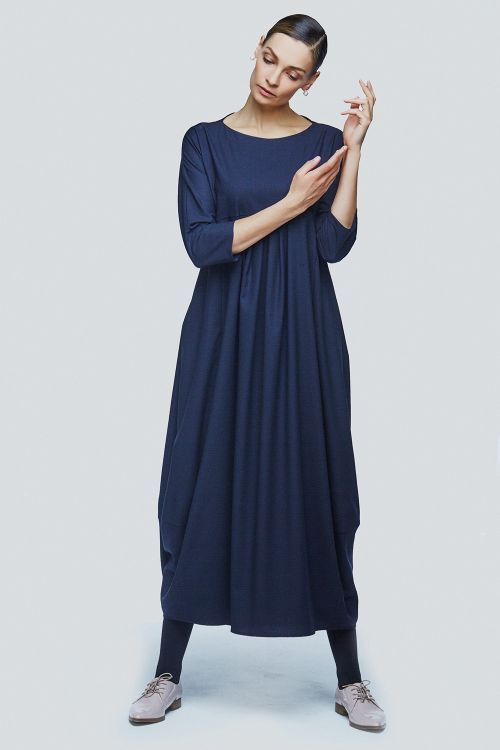Lesel - Платье ромб длинное