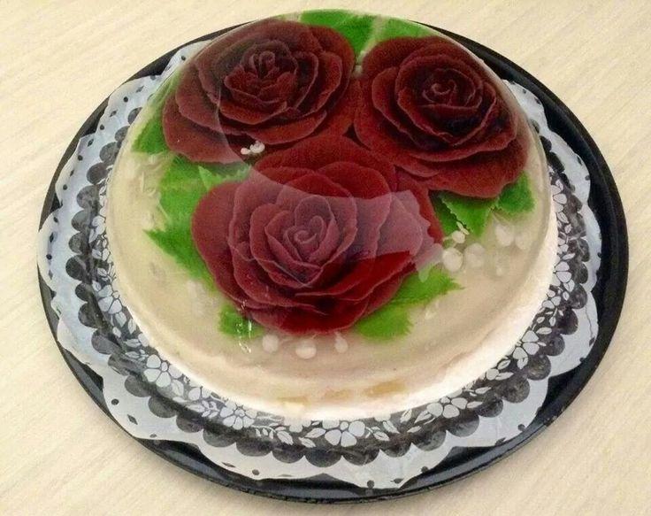 Rosas rojas. Grupo Gelatiarte